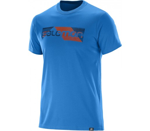 Tricou Salomon Cutter SS Cotton Tee M Albastru