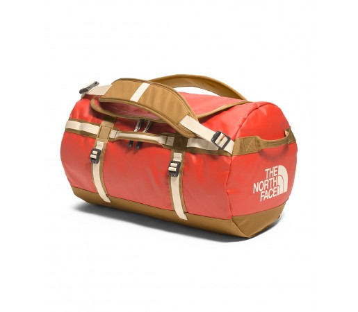 Geanta The North Face Base Camp Duffel - S Portocalie