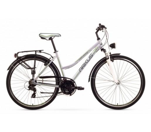 Bicicleta trekking Arkus Czajka D Argintiu/Gri 2016