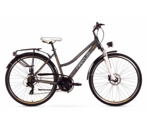 Bicicleta trekking Arkus Czajka D Disc Gri/Portocaliu 2016