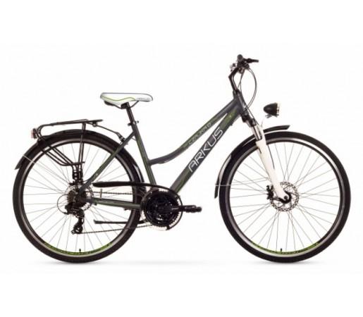 Bicicleta trekking Arkus Czajka D Disc Gri/Verde 2016