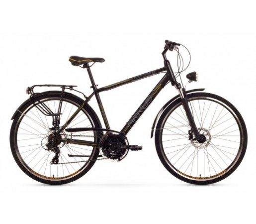 Bicicleta trekking Arkus Czajka M Disc Negru/Portocaliu 2016
