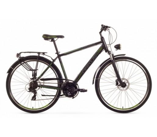 Bicicleta trekking Arkus Czajka M Disc Negru/Verde 2016