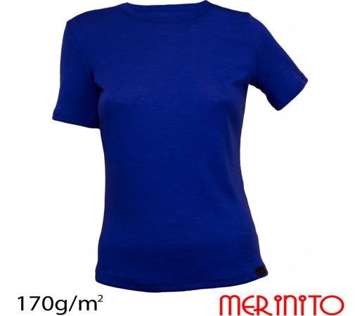 Tricou Merinito Dama Albastru