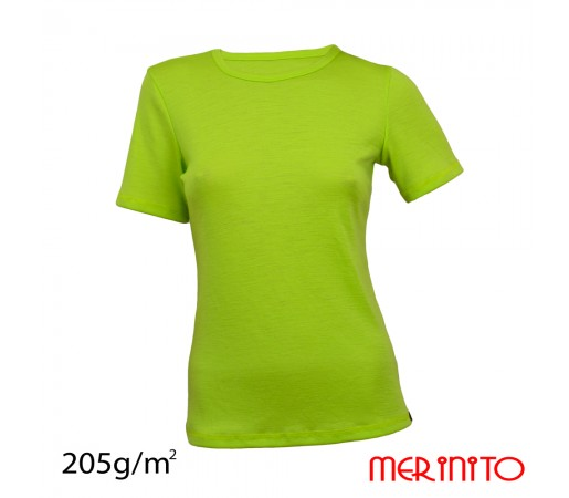 Tricou First Layer Merinito Dama Verde