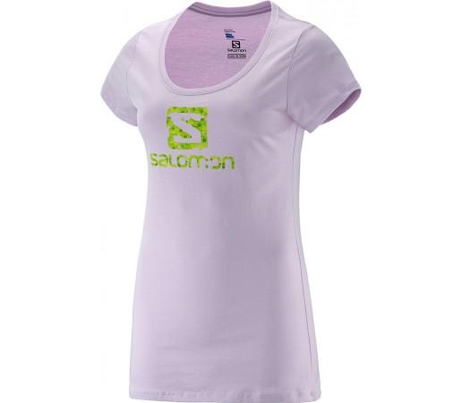 Tricou Salomon Daisy Logo SS Cotton Tee W Violet