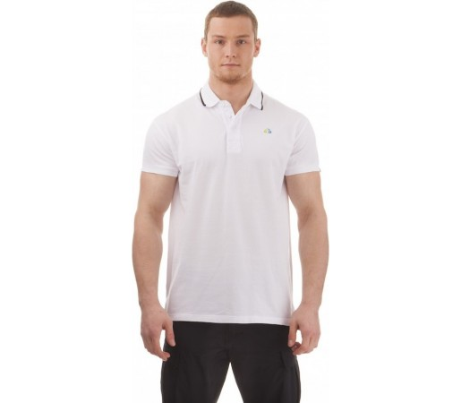 Tricou Polo Nordblanc Decent Men's Cotton Alb