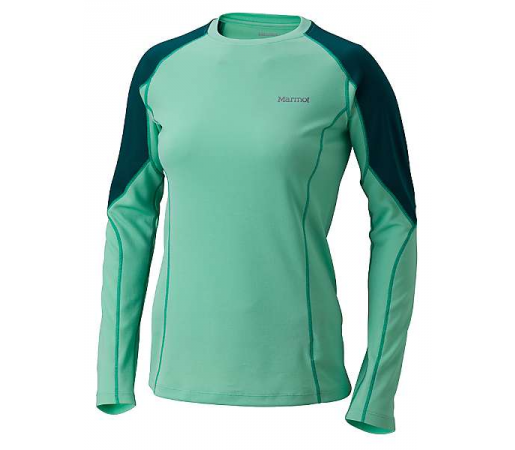Bluza first-layer Marmot W ThermalClime Pro Verde