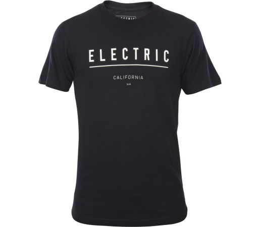 Tricou Electric Corporate Identity Negru