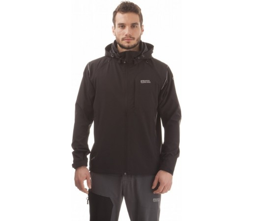 Geaca Nordblanc Effective Men's 2-In-1 Membrane Light Softshell 3Ll 4x4 Stretch Negru