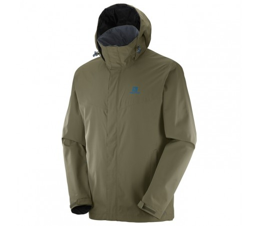 Geaca Salomon Elemental Ad Jacket M Verde Inchis