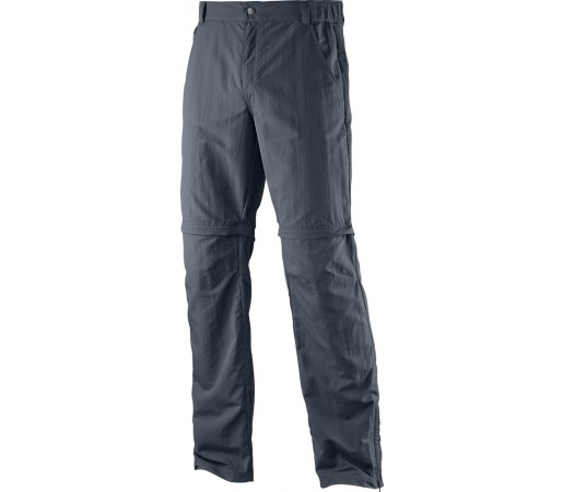 Pantaloni Salomon Elemental Zip-Off Pant M Gri Inchis