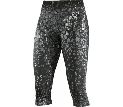 Pantaloni Salomon Elevate 3/4 Tight W Negri