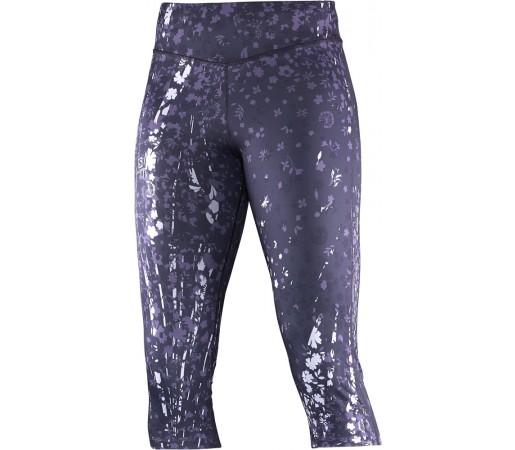 Pantaloni Salomon Elevate 3/4 Tight W Violet