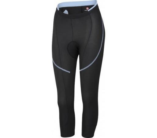 Pantaloni ciclism 3/4 Castelli Evoluzione Knicker Negru/ Albastru