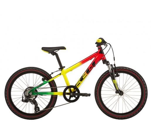 Bicicleta copii Felt Q20S Rosu Galben Verde 2016