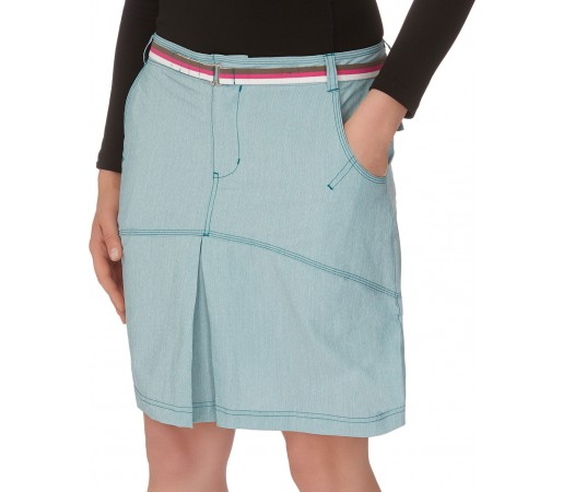 Fusta hiking The North Face W Get On Board Skirt Verde