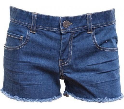 Pantaloni Scurti Fundango Fuzzy Albastru