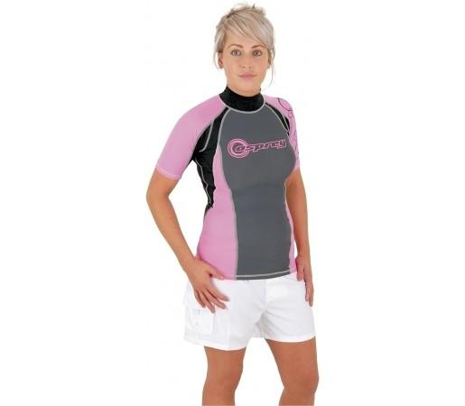 Bluza protectie OSPREY Rash OSX W Neagra/ Roz