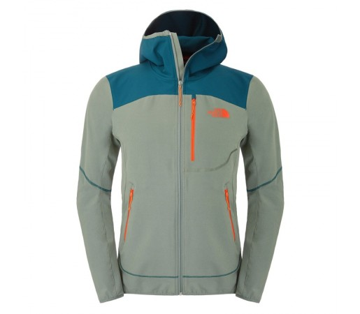 Geaca The North Face M New Summer Softshell Hoodie Verde