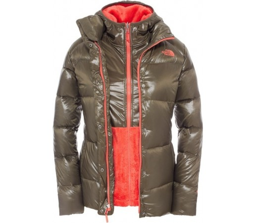 Geaca The North Face Down Triclimate Verde