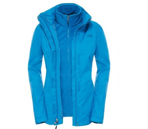 Geaca The North Face Evolve Ii Triclimate Albastra