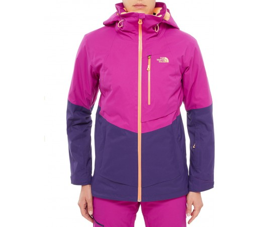 Geaca schi si snowboard The North Face Sickline Insulated Mov/Portocaliu