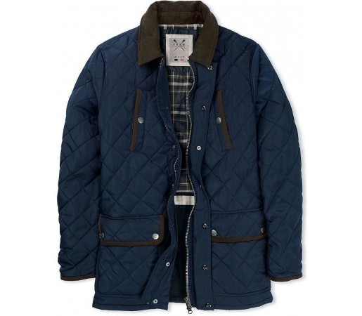 Geaca Crew Clothing Aintree Navy