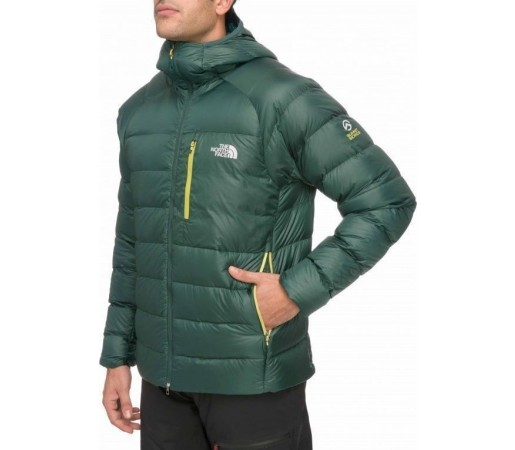 Geaca The North Face Hooded Elysium Men Dark Sage Green
