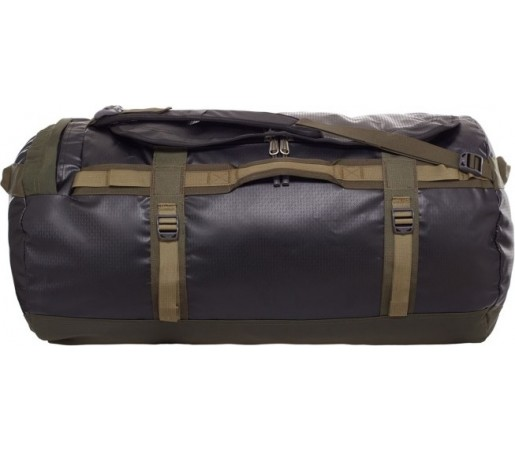 Geanta The North Face Camp Duffel L Negru/ Verde