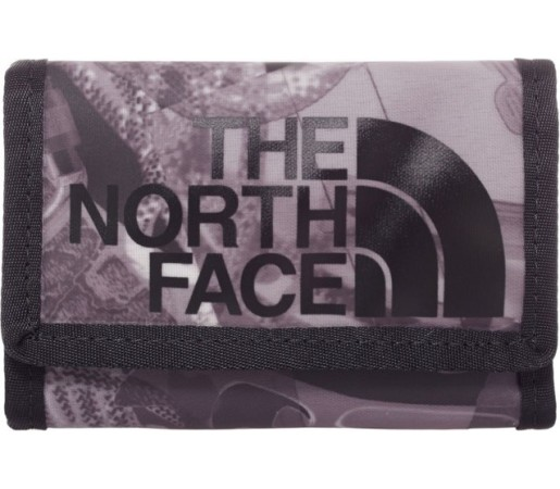 Portofel The North Face Base Camp Wallet Negru/ Gri