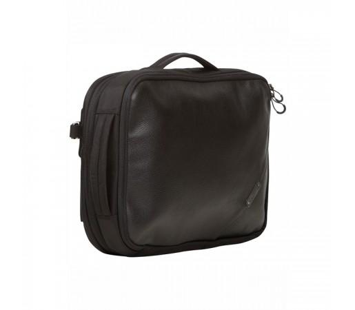 Geanta Bergans Switch Slim Leather Balistic Neagra
