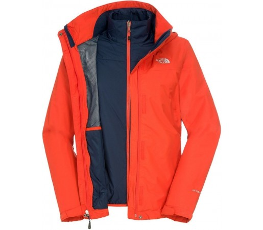 Geca The North Face W Stratosphere Triclima Orange