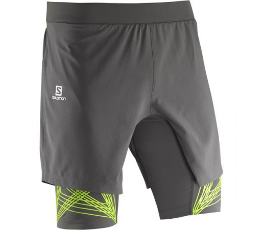 Pantaloni scurti Salomon M Intensity Tw Gri