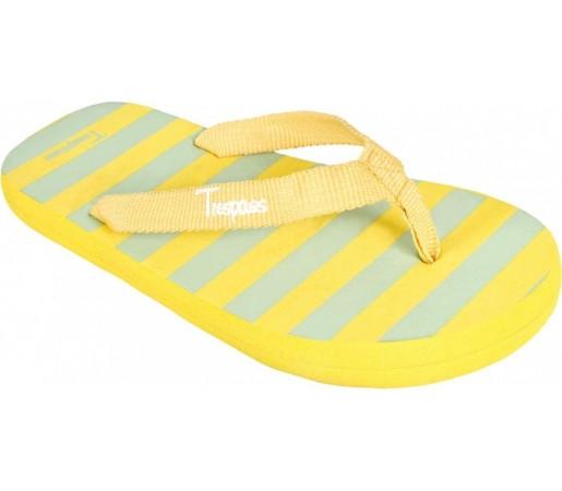 Papuci Trespass Gummy K Yellow