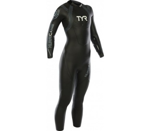 Costum Neopren Tyr Hurricane W Wetsuit Cat. 1 Negru