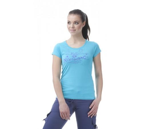 Tricou Norblanc W Hello Albastru