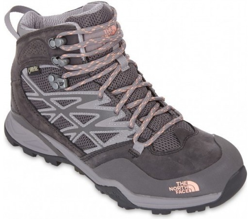 Incaltaminte Hiking The North Face W Hedgehog Hike Mid Gtx Gri
