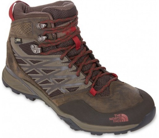 Incaltaminte Hiking The North Face M Hedgehog Hike Mid Gtx Maro