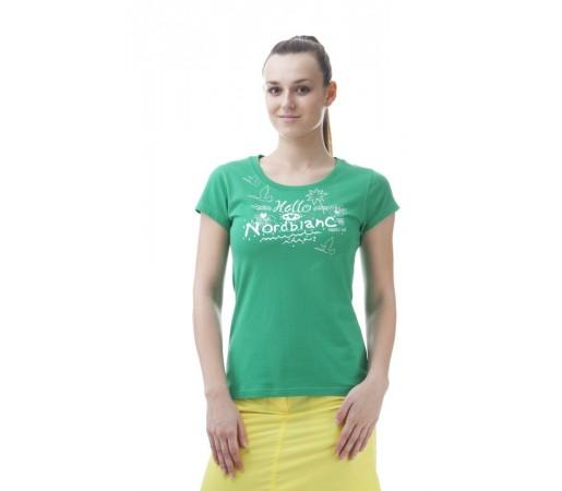 Tricou Norblanc W Hello Verde