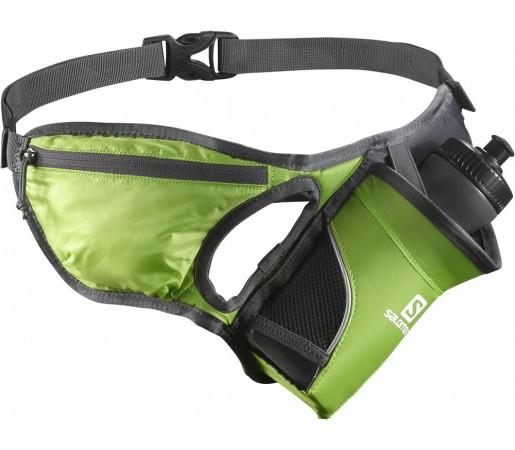 Curea alergare Salomon Hydro 45 Belt Verde/Gri