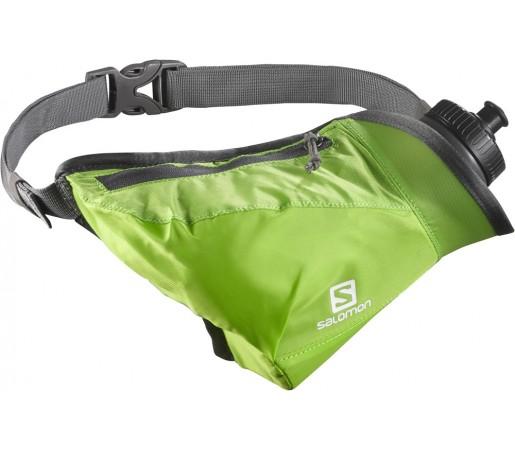 Curea alergare Salomon Hydro 45 Compact Belt Verde/Gri