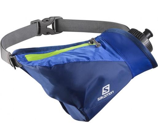 Curea alergare Salomon Hydro 45 Compact Belt Albastru/Verde