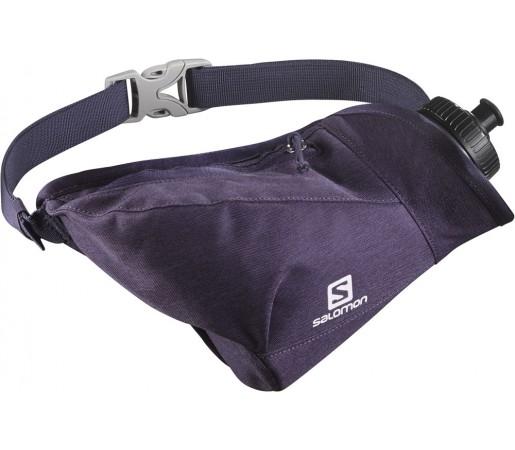 Curea alergare Salomon Hydro 45 Compact Belt Violet Inchis