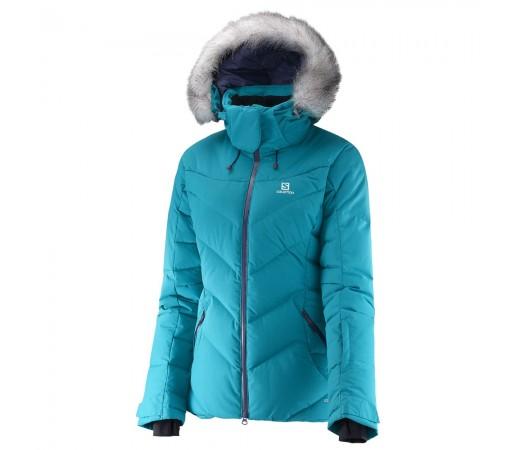 Geaca schi Salomon Icetown Jkt W Turquoise