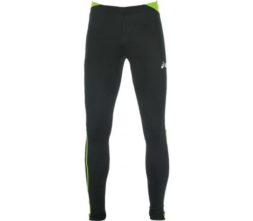 Pantaloni corp Asics Tight Asafa Negru/Lime