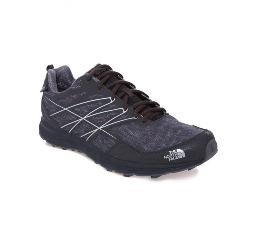 Incaltaminte alergare The North Face M Litewave Cross WP Gri