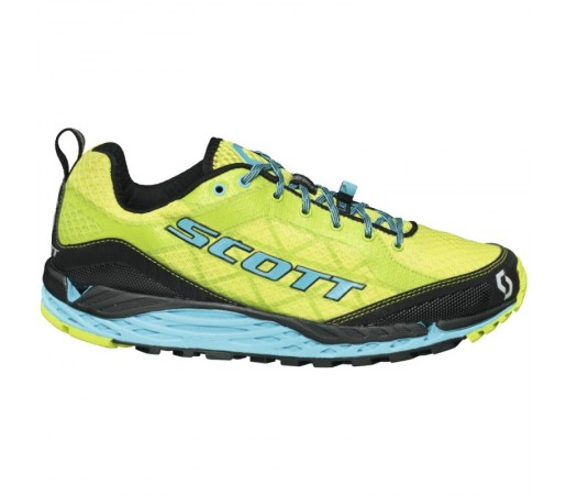 Incaltaminte alergare Scott W Kinabalu Verde/ Albastra