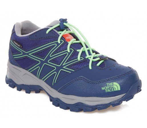 Incaltaminte Hiking The North Face Jr Hedgehog Hiker WP Albastra/Verde