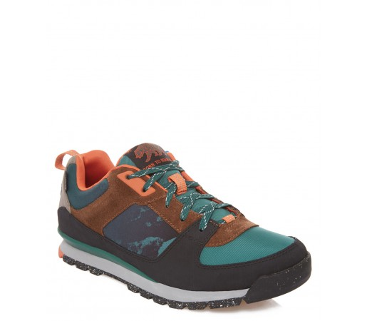 Incaltamintea The North Face M Back-To-Berkeley Mountain Sneaker Verde/Portocalie